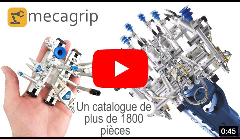 Présentation Youtube de Mecagrip, expert en main de préhension