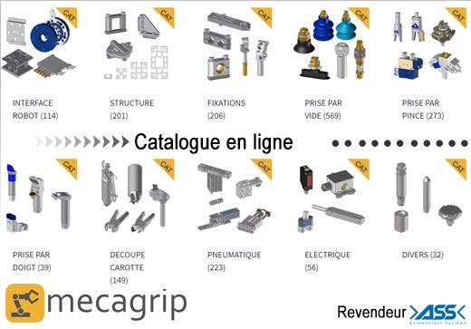 Catalogue en ligne produits de préhension ASS