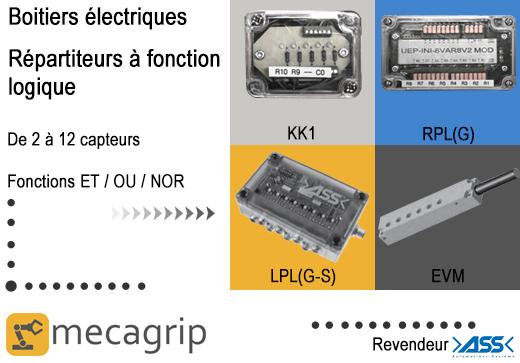 Boitiers électriques ASS